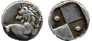 Hemidrachm of Thracian Cherronesos