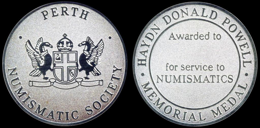Haydn D. Powell Memorial Medal - Silver