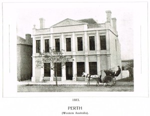 Bank NSW Perth 1883