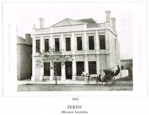Bank NSW Perth 1883